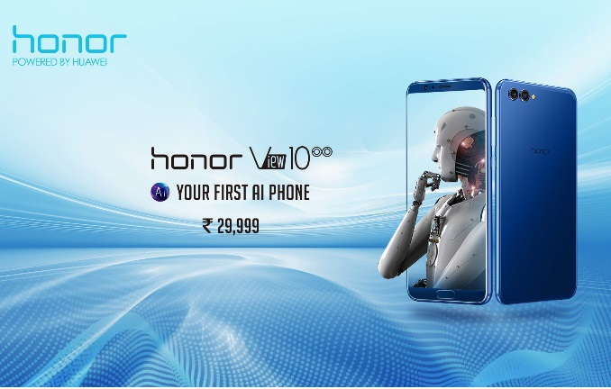 Honor View 10 released in India